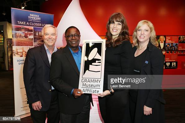 Dean of College Media Entertainment Ken Paulson President of Middle Tennessee State University Sidney A McPhee Chief Operating Officer of the Grammy...