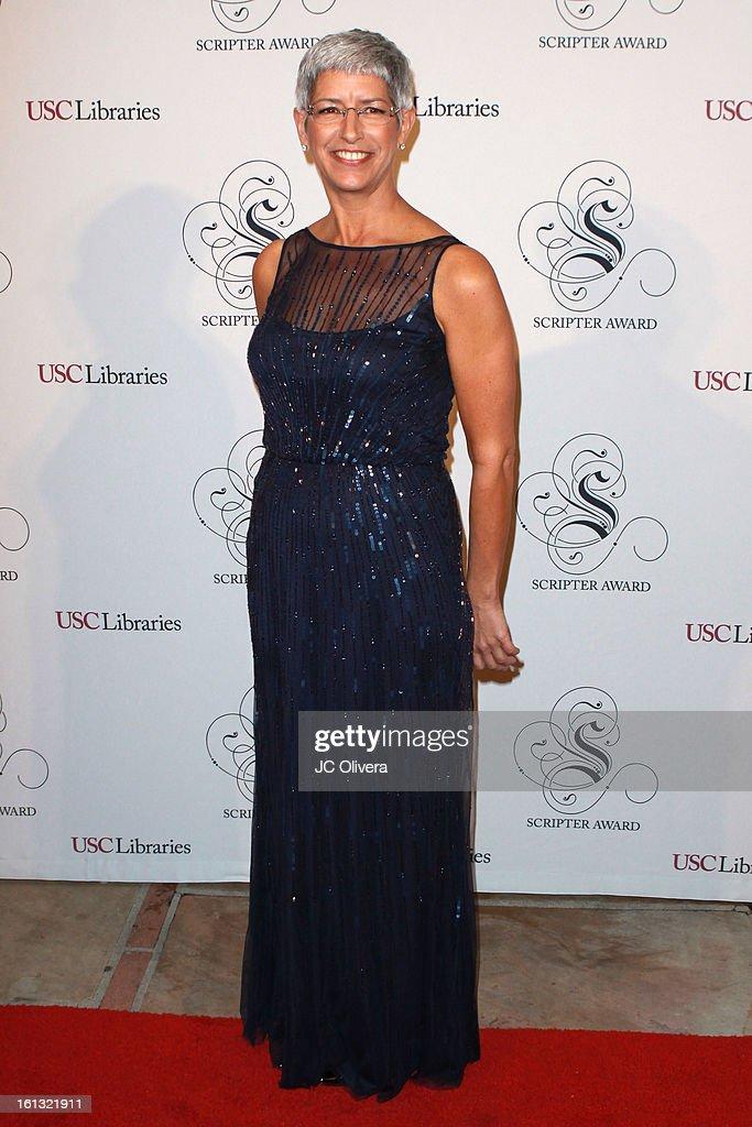 Dean of the USC Libraries Catherine Quinlan attends the 25th Annual Scripter Awards at Edward L. Doheny Jr. Memorial Library at University of Southern California on February 9, 2013 in Los Angeles, California.