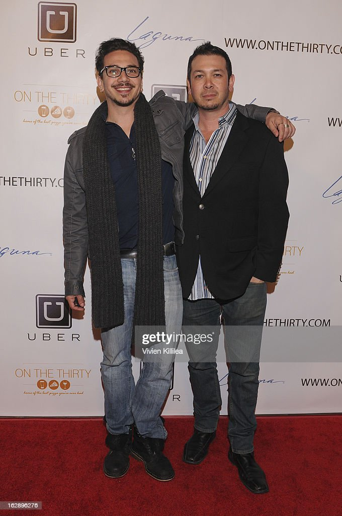 Dean Ronalds and Brian Ronalds attend 'On The Thirty' Grand Opening at On The Thirty on February 28, 2013 in Sherman Oaks, California.