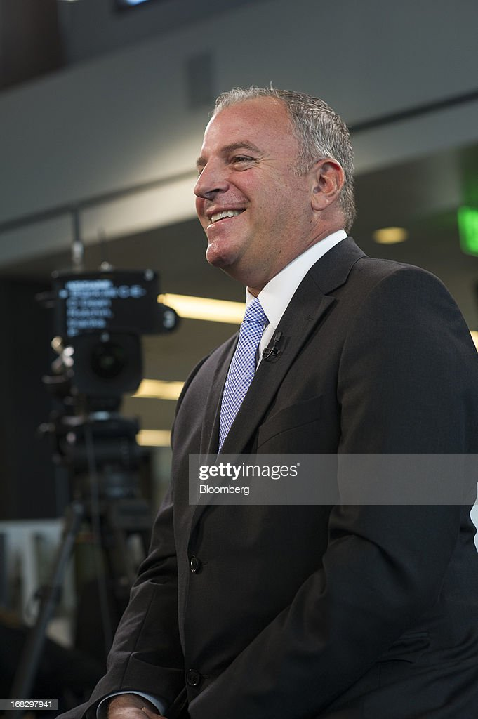 Dean Rotchin, president, founder and chief executive officer of BlackJet, smiles during a Bloomberg West television interview in San Francisco, California, U.S., on Tuesday, May 7, 2013. BlackJet is a service that allows members to book seats on private jets over select routes. Photographer: David Paul Morris/Bloomberg via Getty Images