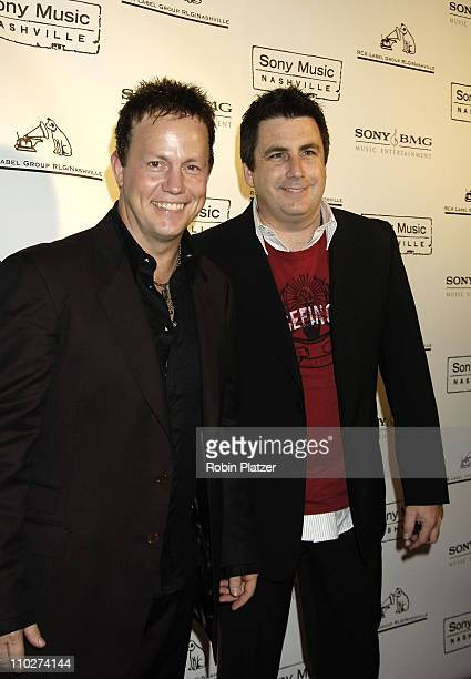 Dean Sams and Michael Brill of Lonestar during The 39th Annual CMA Awards SONY BMG After Party Arrivals at Gotham Hall in New York City New York...