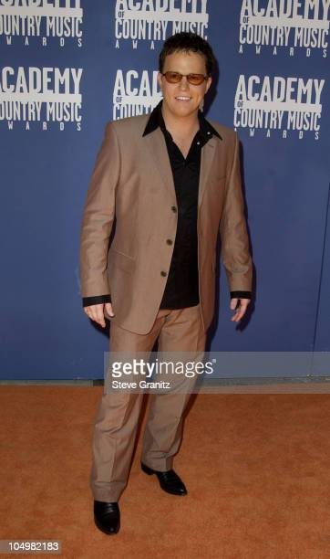 Dean Sams during The 37th Annual Academy of Country Music Awards Arrivals at Universal Amphitheater in Universal City California United States