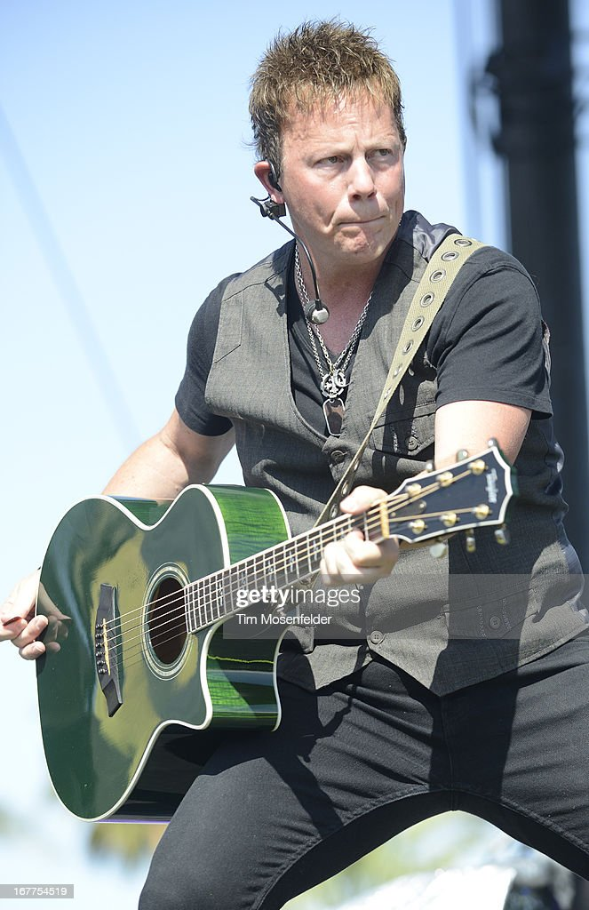 Dean Sams of Lonestar performs as part of the Stagecoach Music Festival at the Empire Polo Grounds on April 28, 2013 in Indio, California.