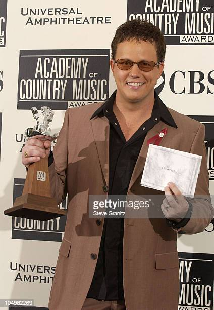 Dean Sams of the group Lonestar winner of the Top Vocal Group award
