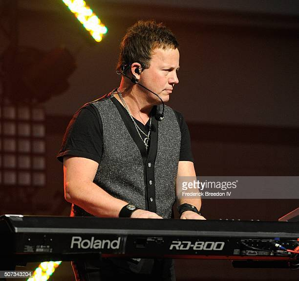Dean Sams performs at Honda Stage at the NHL Fan Fair presented by Bridgestone on January 28 2016 in Nashville Tennessee