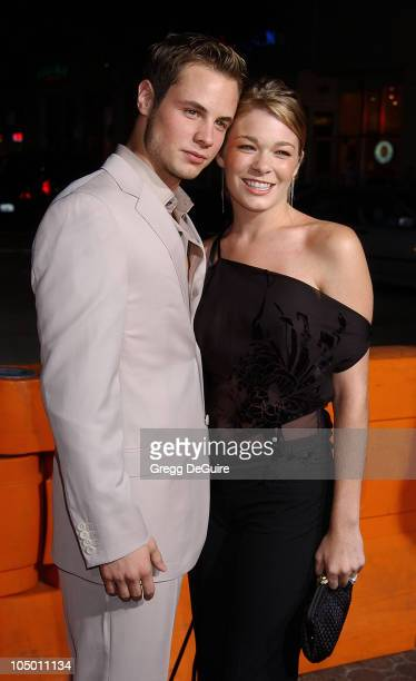 Dean Sheremet LeAnn Rimes during 'The Four Feathers' Premiere Los Angeles at Mann Village Theatre in Westwood California United States