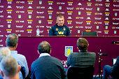 GBR: Aston Villa Training and Press Conference