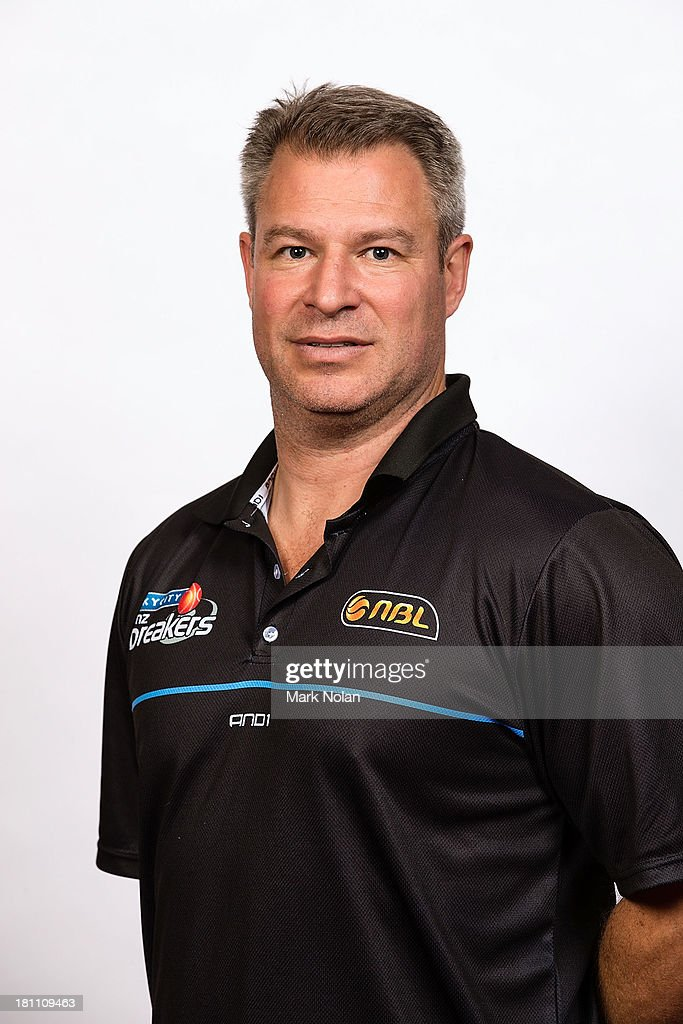 Dean Vickerman of the New Zealand Breakers poses for a photo during the official 2013/14 NBL Headshots Session at The Entertainment Quarter on September 19, 2013 in Sydney, Australia.