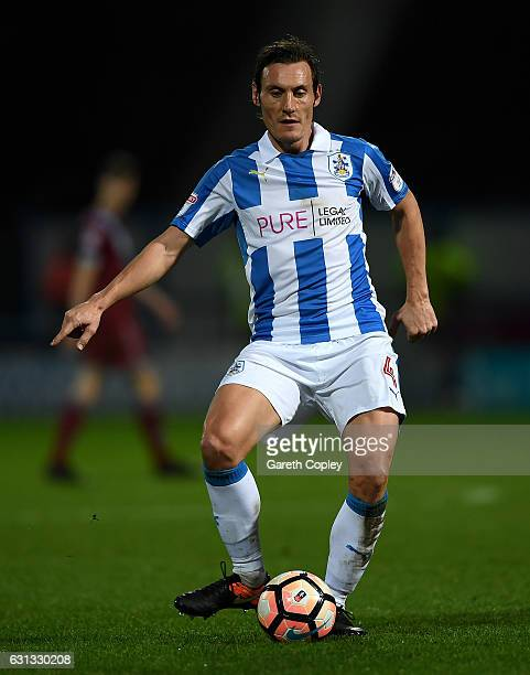 Dean Whitehead of Huddersfield during The Emirates FA Cup Third Round match between Huddersfield Town and Port Vale at Galpharm Stadium on January 7...