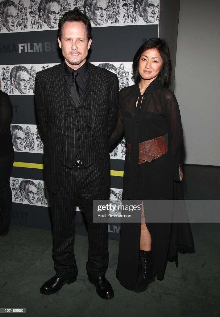 <a gi-track='captionPersonalityLinkClicked' href=/galleries/search?phrase=Dean+Winters&family=editorial&specificpeople=213293 ng-click='$event.stopPropagation()'>Dean Winters</a> and Guest attend A Tribute To Quentin Tarantino at MOMA on December 3, 2012 in New York City.