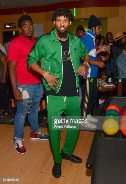DeAndre Bembry attends the 2017 Ludaday Weekend Bowling Tournament at Bowlmor lanes on September 1 2017 in Atlanta Georgia