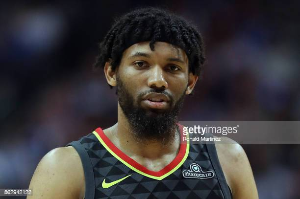 DeAndre' Bembry of the Atlanta Hawks at American Airlines Center on October 18 2017 in Dallas Texas NOTE TO USER User expressly acknowledges and...