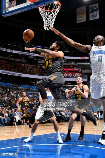 DeAndre' Bembry of the Atlanta Hawks shoots the ball against the Orlando Magic on December 6 2017 at Amway Center in Orlando Florida NOTE TO USER...