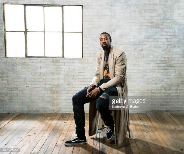 DeAndre Jordan of the Los Angeles Clippers poses for a photo during the 2017 AllStar Media Circuit at the Ritz Carlton in New Orleans LA NOTE TO USER...