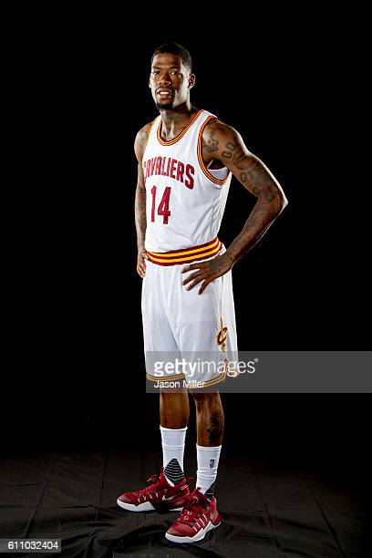 DeAndre Liggins of the Cleveland Cavaliers poses for a portrait during media day at Cleveland Clinic Courts on September 26 2016 in Cleveland Ohio...