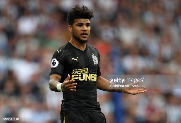 DeAndre Yedlin of Newcastle United during the Premier League match between Brighton and Hove Albion and Newcastle United at Amex Stadium on September...
