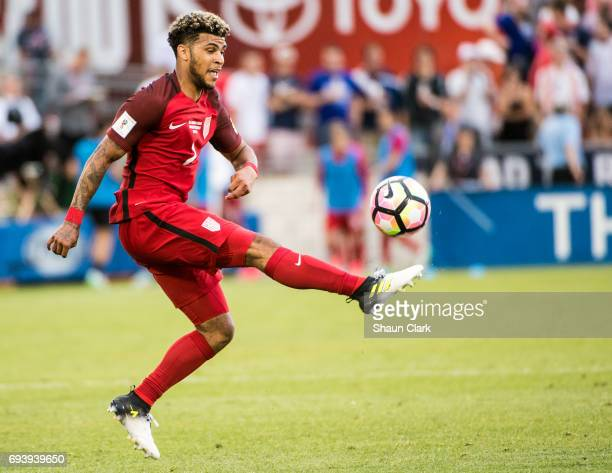DeAndre Yedlin of United States during the World Cup Qualifier match between the United States and Trinidad Tobago at Dick's Sporting Goods Park on...