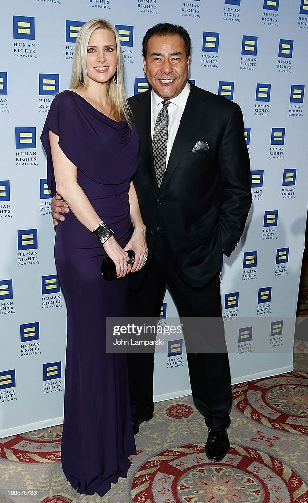 Deanna White and John Quinones attend The 2013 Greater New York Human Rights Campaign Gala at The Waldorf=Astoria on February 2 2013 in New York City