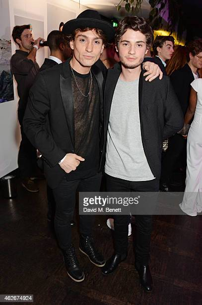 Deano Bugatti and Jack Brett Anderson attend the InStyle and EE Rising Star Party in association with Lancome Karen Millen and Sky Living at The Ace...