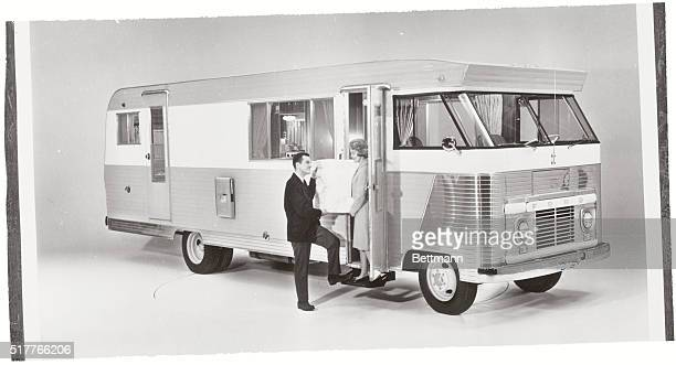 Living On Wheels The Condor Mobile Home Complete Selfcontained Unit Built A Modified Ford Truck