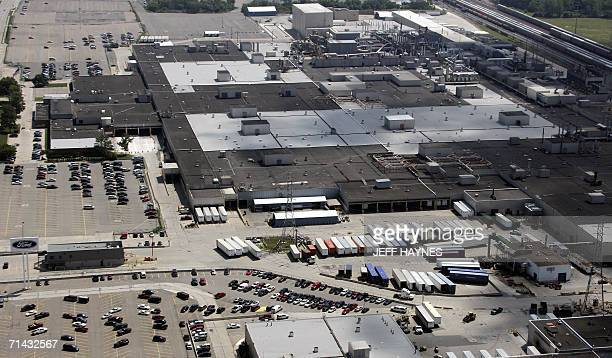 The Ford Dearborn Truck assembly plant 13 July 2006 in Dearborn Michigan AFP PHOTO/Jeff HAYNES