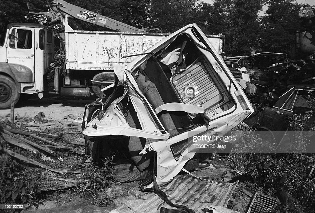 death of the actor pierre blaise in a car accident en france pictures getty images. Black Bedroom Furniture Sets. Home Design Ideas