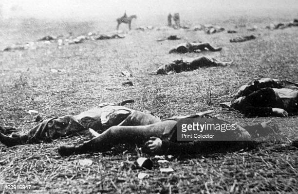 'Death on a Misty Morning' aftermath of the Battle of Gettysburg American Civil War 5 July 1863 Gettysburg was the largest battle ever fought in the...
