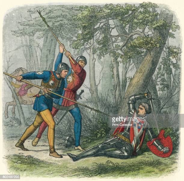 Death to the Kingmaker' 1864 Richard Neville 16th earl of Warwick known as the Kingmaker was an English nobleman administrator and military commander...