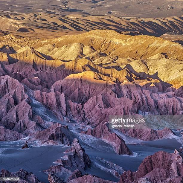 Death Valley at sunset, Atacama Desert