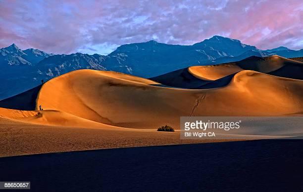 Death Valley Dune Contours