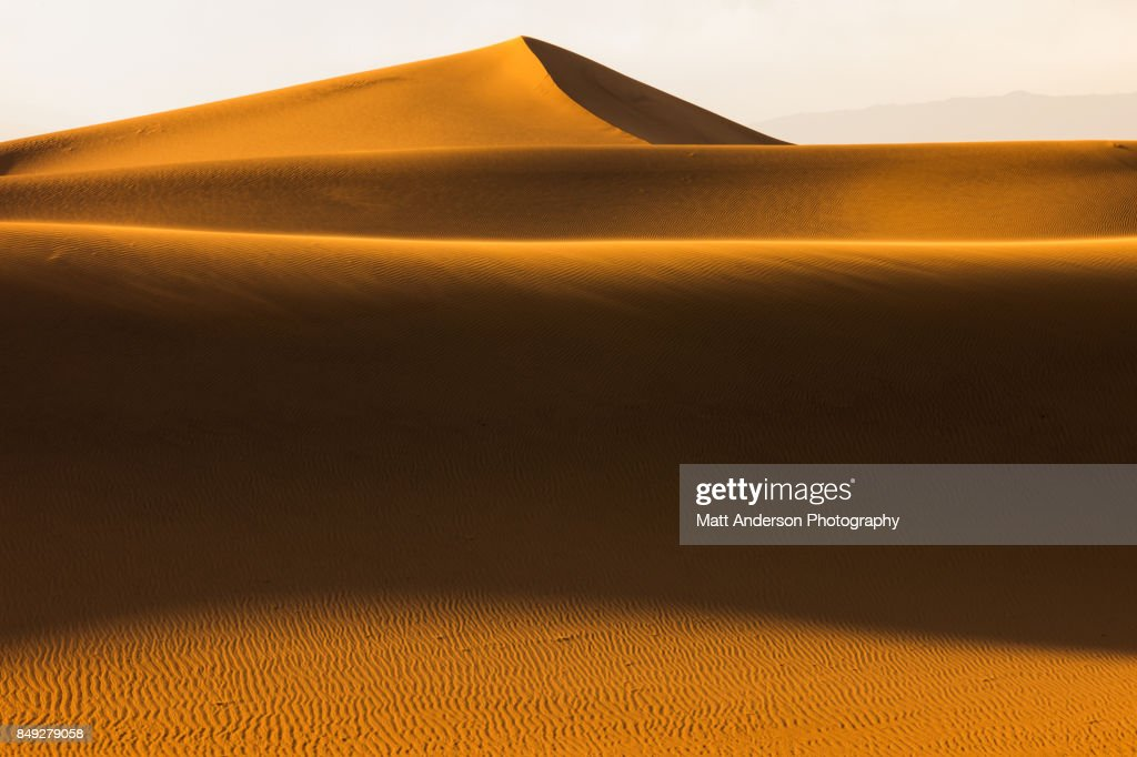 Death Valley Sand Dunes 2 : Stock Photo