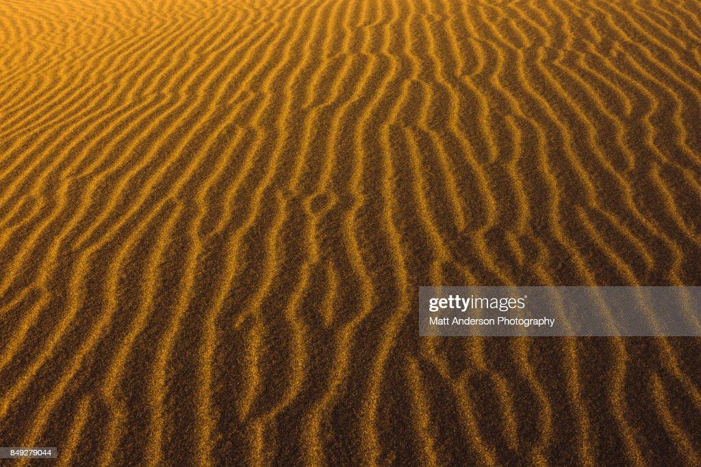 Death Valley Sand Dunes 3 : Stock Photo