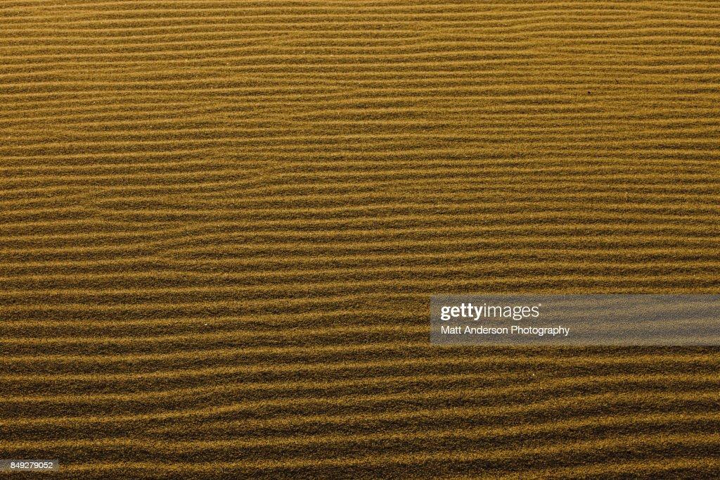 Death Valley Sand Dunes 4 : Stock Photo