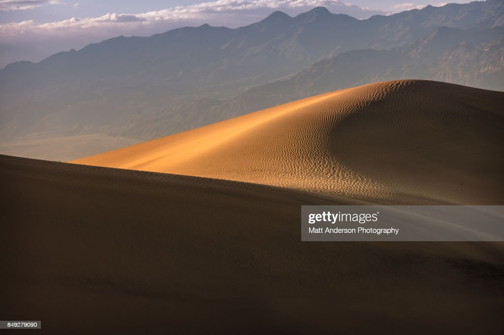 Death Valley Sand Dunes 7 : Stock Photo