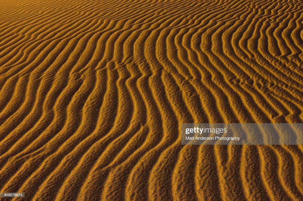 Death Valley Sand Dunes 8 : Stock Photo