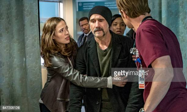 FIRE 'Deathtrap' Episode 516 Pictured Marina Squerciati as Kim Burgess Elias Koteas as Alvin Olinsky