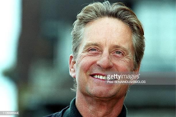 Deauville Film Festival Michael Douglas In Deauville France On September 11 1998