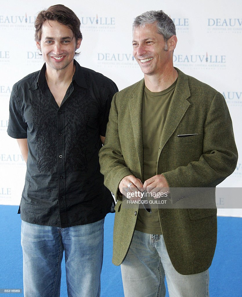 US directors Scott Mc Gehee (L) and David Siegel pose during a photocall at the Deauville international Centre prior to the screening of 'Pretty persuasion' screened during the 31st Deauville American film festival, 08 September 2005. AFP PHOTO FRANCOIS GUILLOT