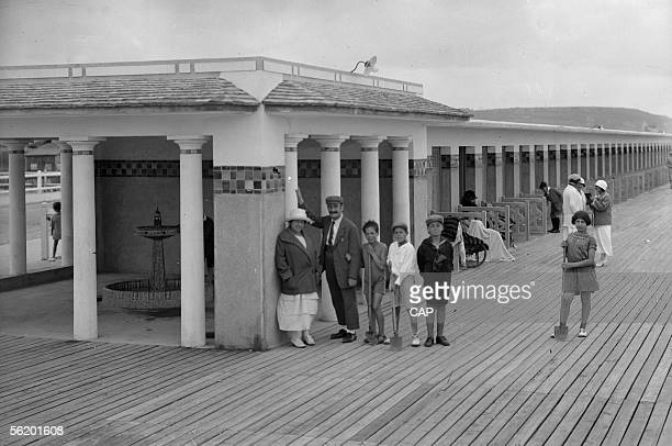 Deauville The boards About 1925