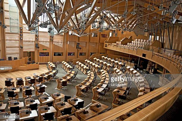 Diskutieren Chamber of the Scottish Parliament, Edinburgh