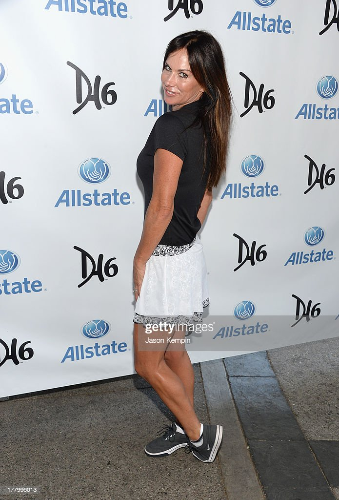 Debbe Dunning attends the 2nd Annual Dennis Haysbert Humanitarian Foundation Celebrity Golf Classic at Lakeside Golf Club on August 26, 2013 in Burbank, California.