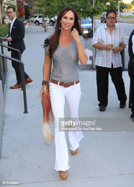 Debbe Dunning is seen on April 30 2017 in Los Angeles CA