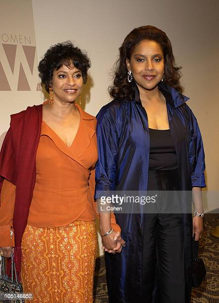 Debbie Allen Phylicia Rashad during 2003 Women In Film Crystal Lucy Awards Show at Century Plaza Hotel in Los Angeles California United States