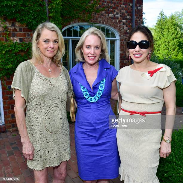 Debbie Bancroft Amy Hoadle and Tiffany Dubin attend Maison Gerard Presents Marino di Teana A Lifetime of Passion and Expression at Michael Bruno and...