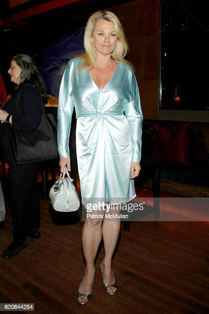 Debbie Bancroft attends An Intimate Evening of Food Fashion and Gossip with the Inimitable Jackie Rogers at Jour et Nuit on March 26 2007 in New York...