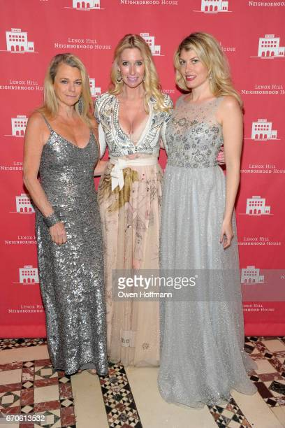Debbie Bancroft Mary Snow and Meredith Ostrom attend LNHN Honours Geoffrey Bradfield and John Manice at Cipriani 42nd Street on April 18 2017 in New...