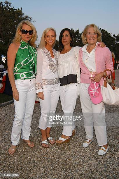 Debbie Bancroft Sarah Stroud Carol Stroud and JoAnn StroudBilby attend The Annual American Picnic To Benefit The SOUTHAMPTON FRESH AIR HOME at...