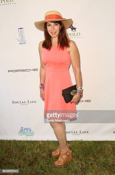 Debbie Brooks attends the First Annual Polo Hamptons Match at Southampton Polo Club on June 24 2017 in New York City