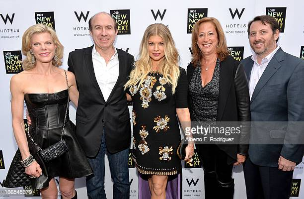 Debbie Dauman Philippe Dauman President and CEO of Viacom Inc Fergie Lisa Sherman Executive Vice President and General Manager of Logo and Brent...