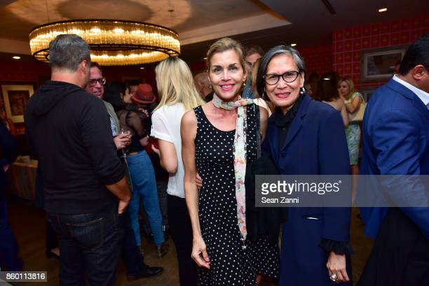 Debbie Dickinson and GiGi Salomon attend the launch of The Collector Geneva's Sophie Bonvin Code Collection in Collaboration with artist Bill Claps...